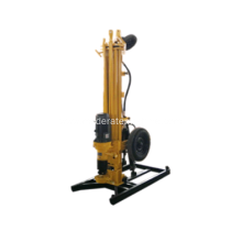 Electric 150m Mobile Portable Water Well Drilling Rig